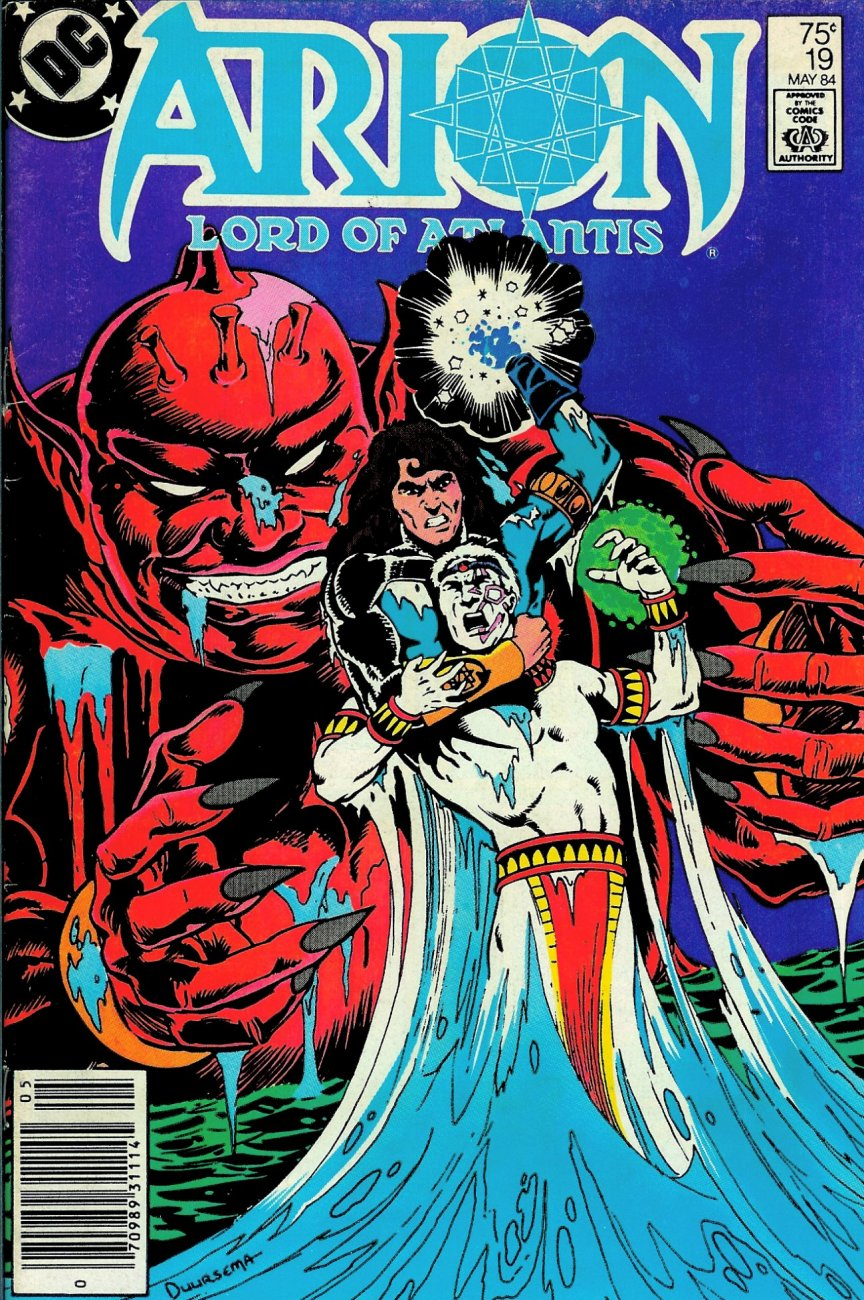 Read online Arion, Lord of Atlantis comic -  Issue #19 - 1