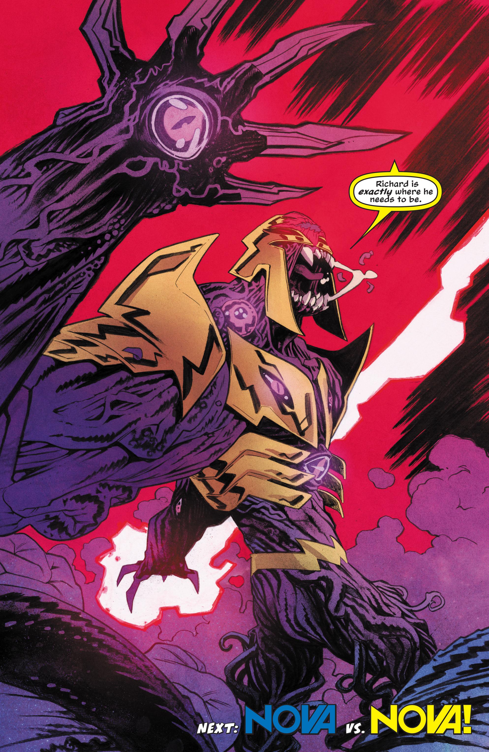 Read online Nova (2017) comic -  Issue #6 - 21