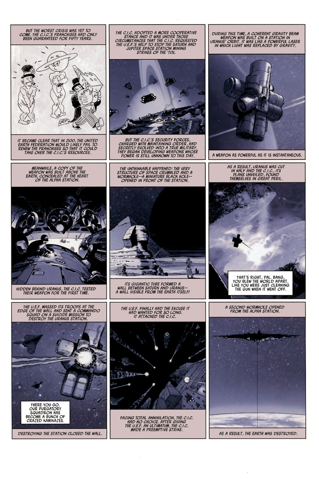 Read online Universal War One: Revelations comic -  Issue #2 - 26