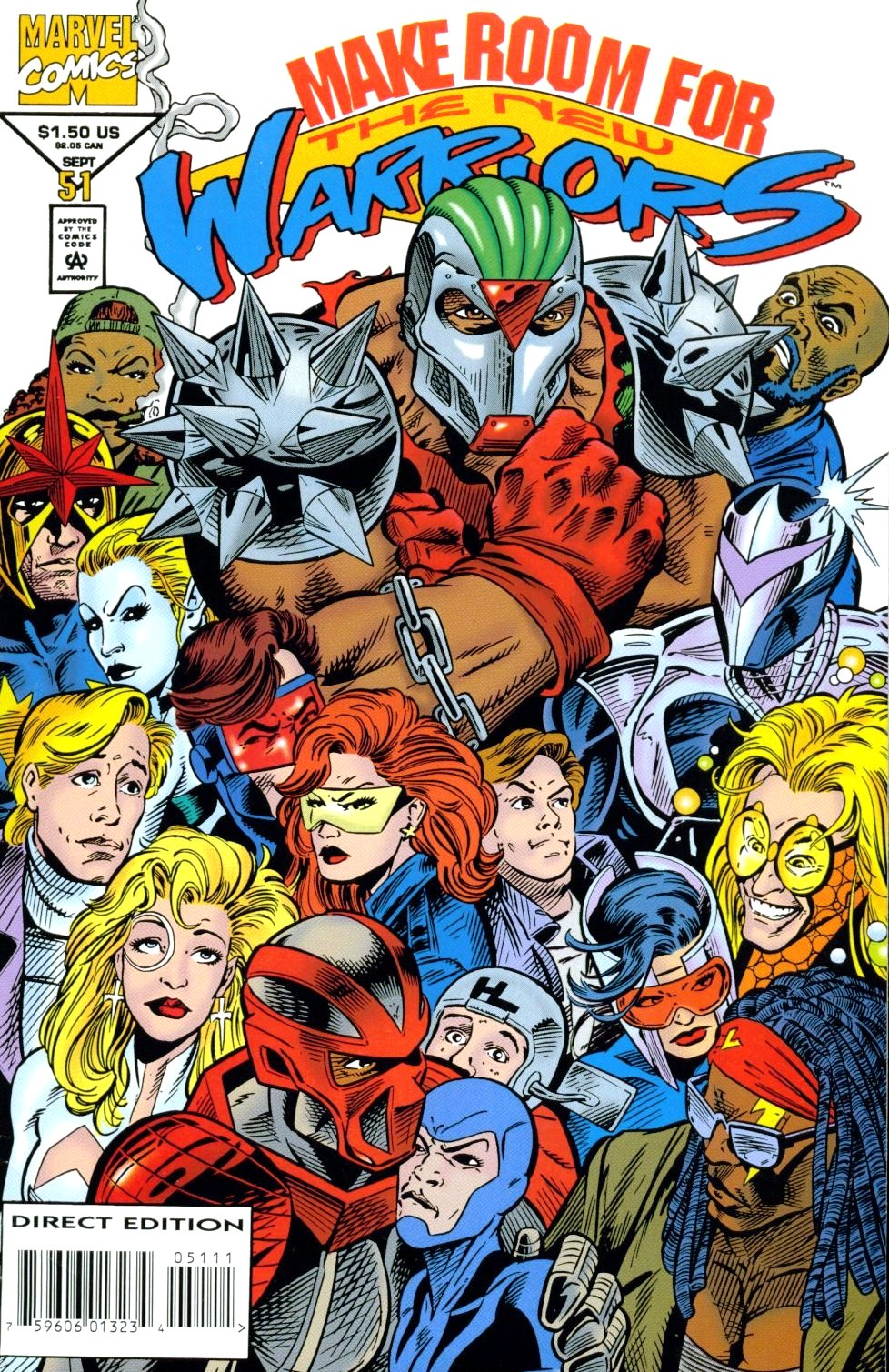 The New Warriors Issue #51 #55 - English 1