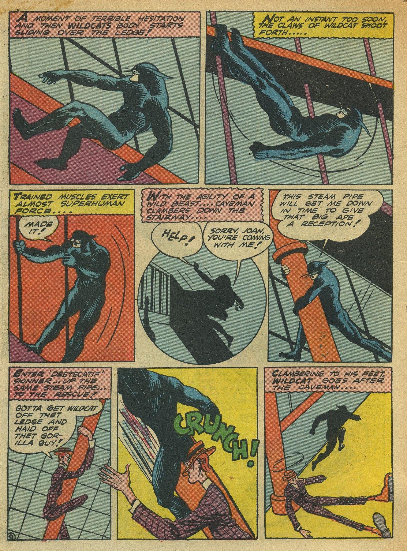 Read online Sensation (Mystery) Comics comic -  Issue #10 - 64