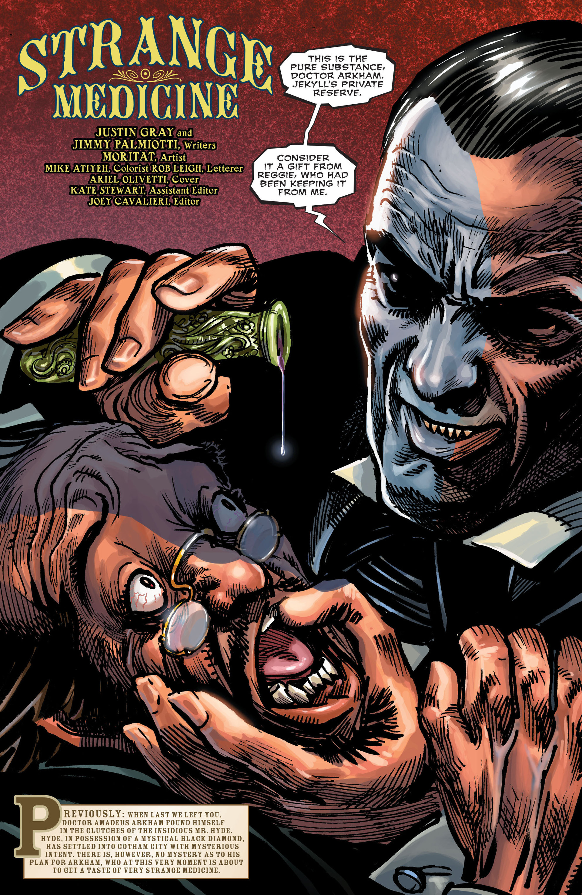 Read online All-Star Western (2011) comic -  Issue #15 - 2