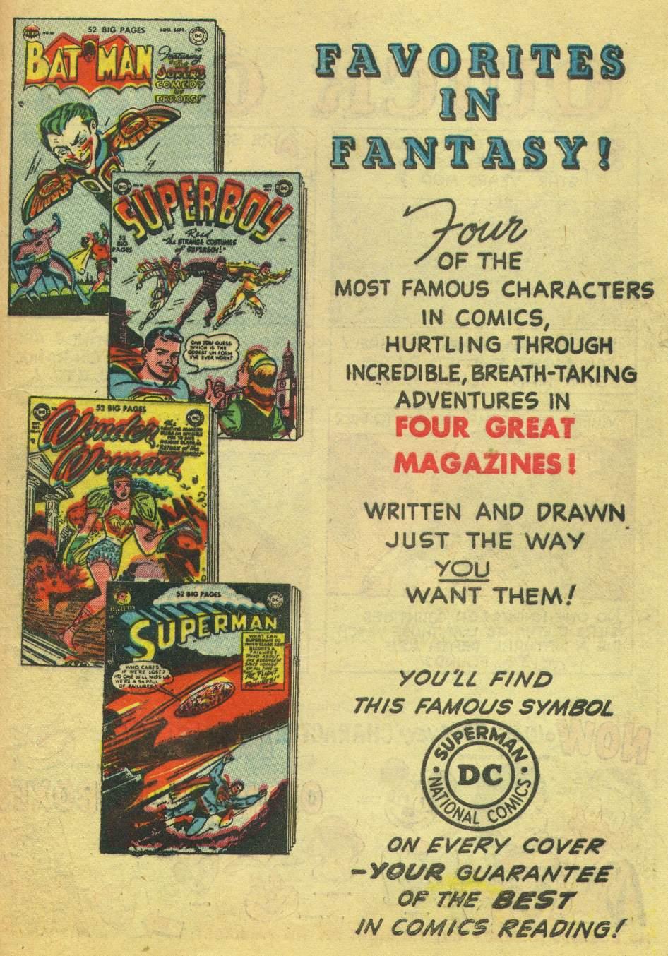 Read online Adventure Comics (1938) comic -  Issue #168 - 45