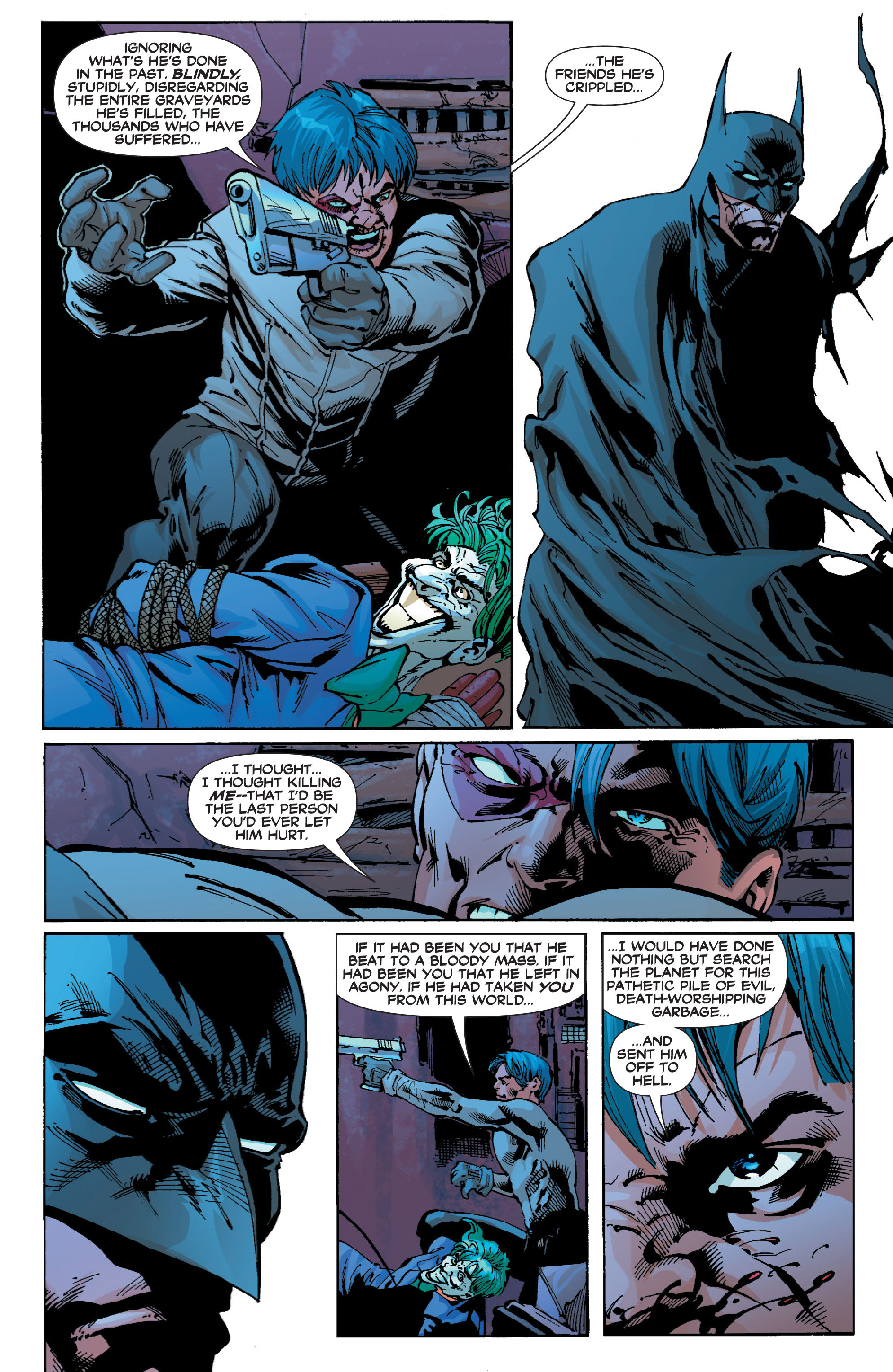 Read online Batman: Under The Red Hood comic -  Issue # Full - 306
