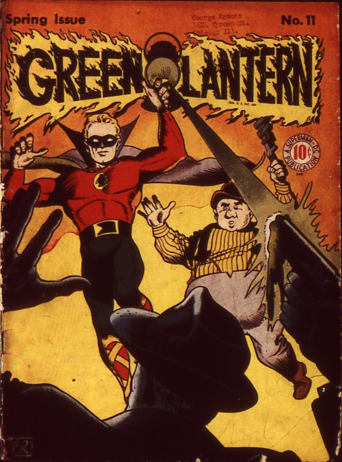 Green Lantern (1941) 11 Page 1