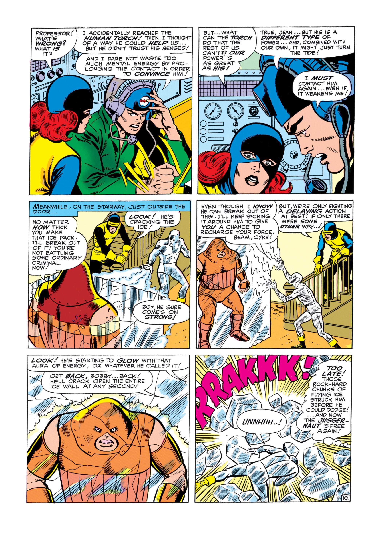 Read online Uncanny X-Men (1963) comic -  Issue #13 - 11