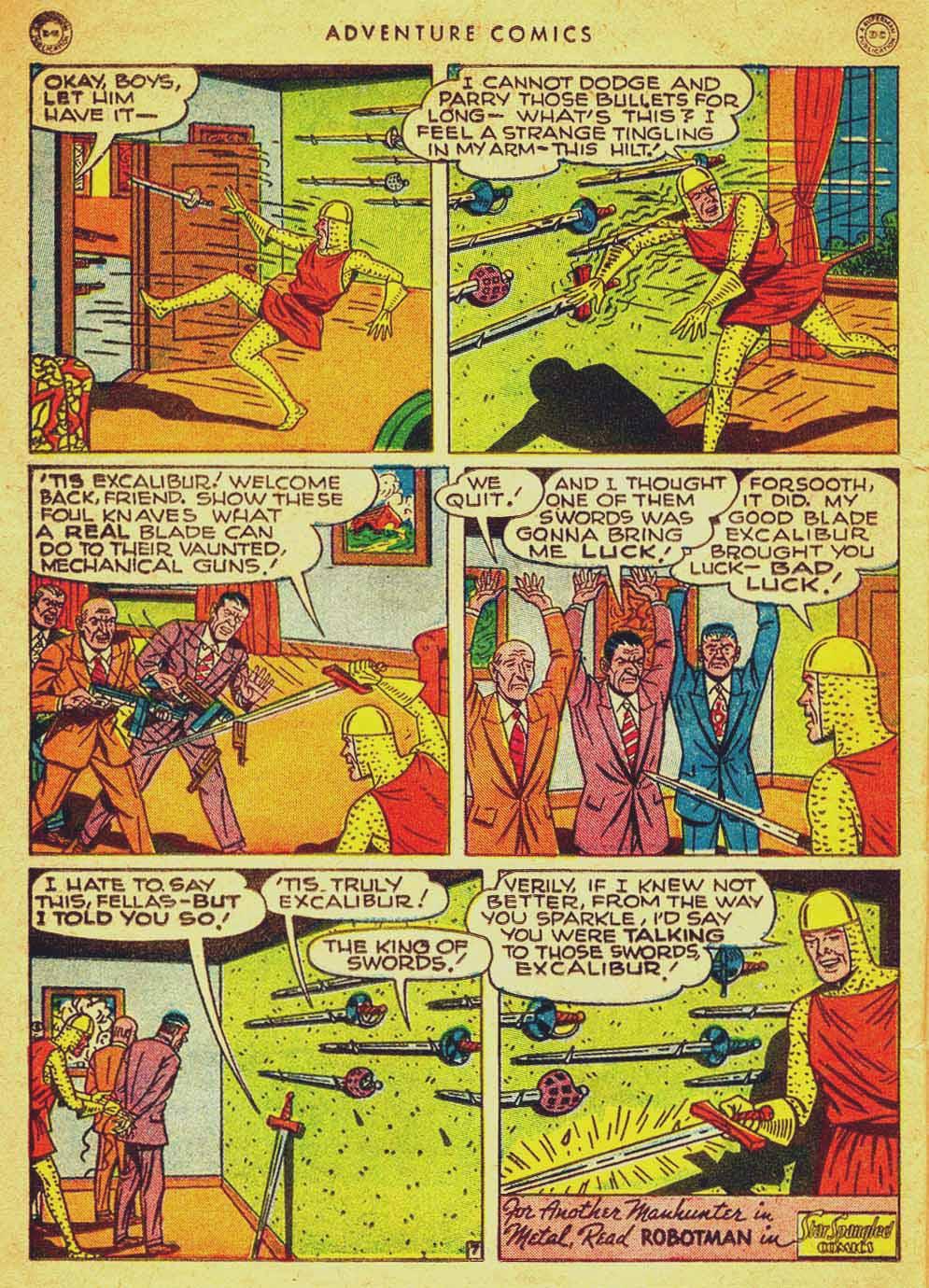 Read online Adventure Comics (1938) comic -  Issue #121 - 37