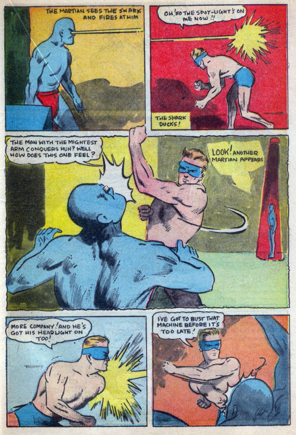 Read online Amazing Man Comics comic -  Issue #15 - 40