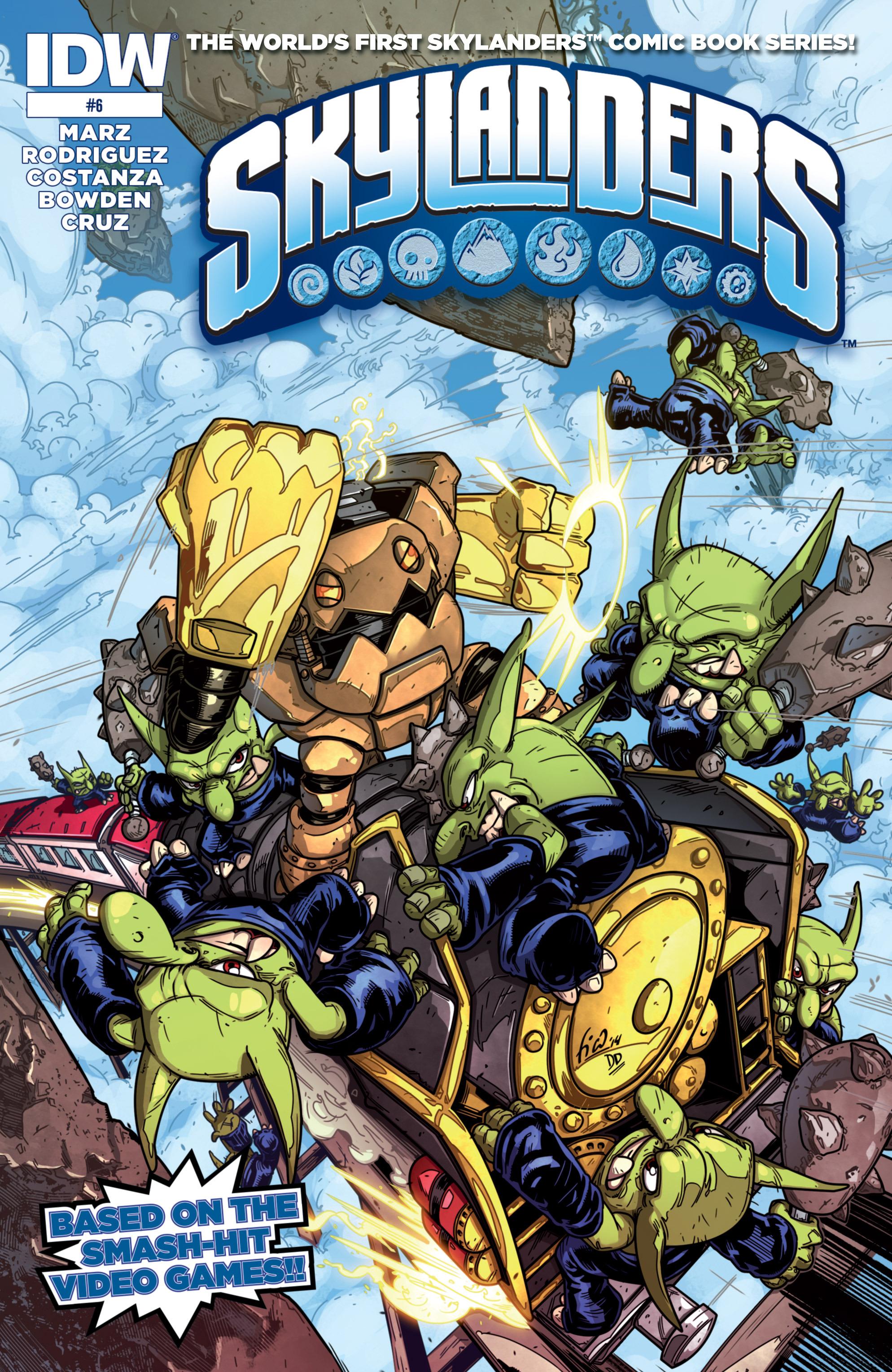 Read online Skylanders comic -  Issue #6 - 1