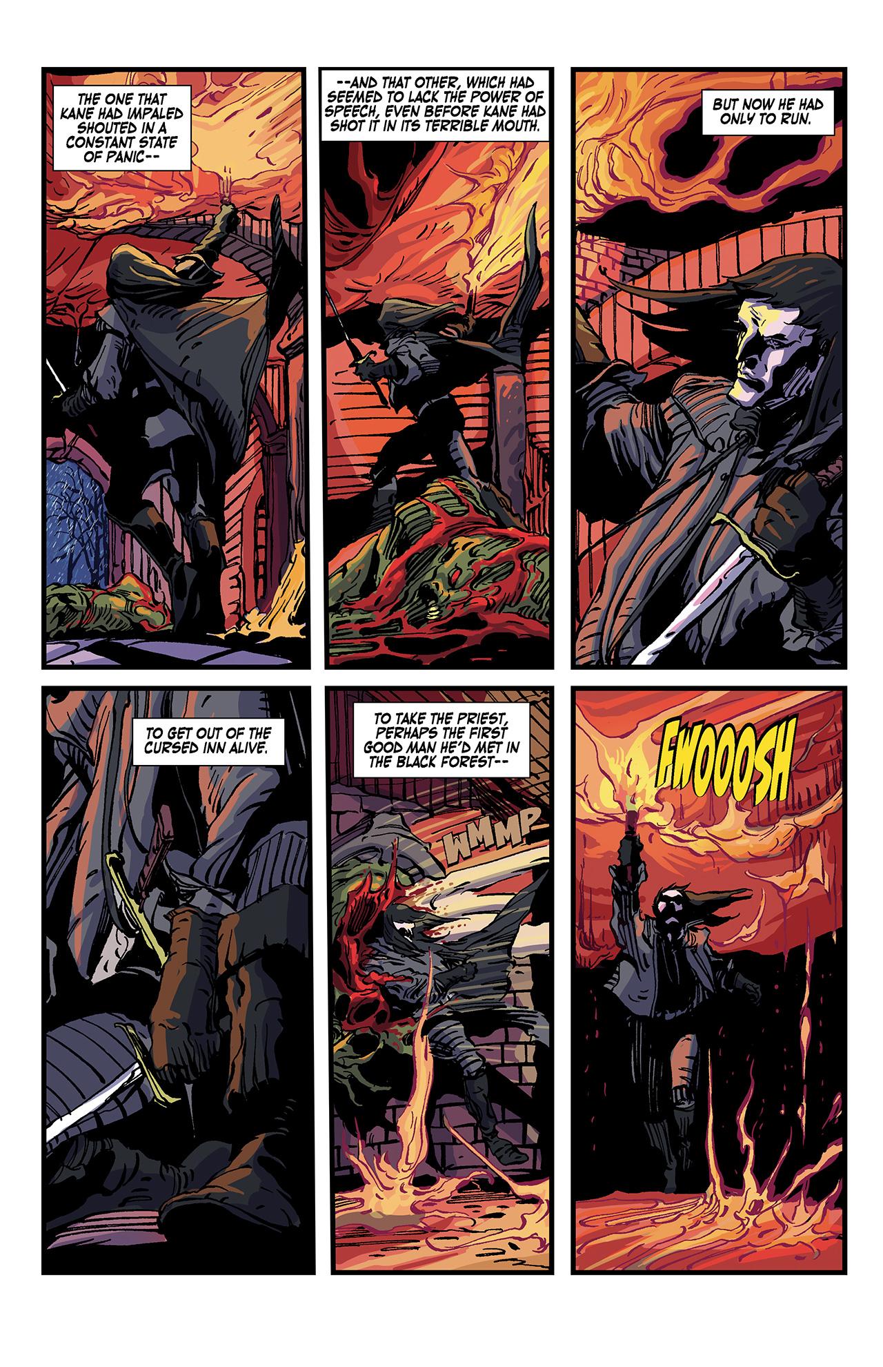 Read online Solomon Kane: Death's Black Riders comic -  Issue #4 - 19