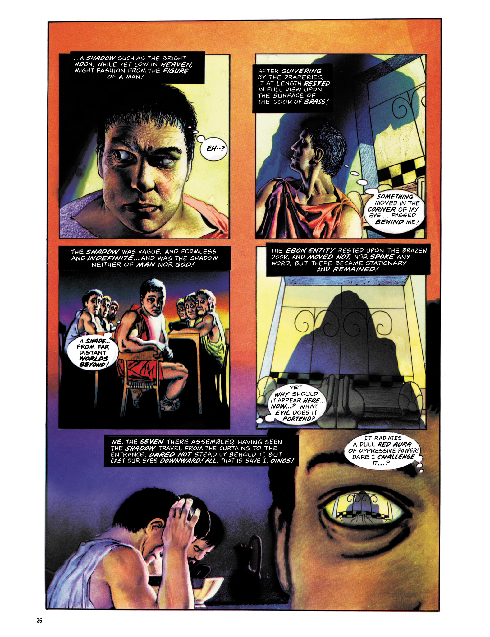 Read online Eerie Archives comic -  Issue # TPB 18 - 37
