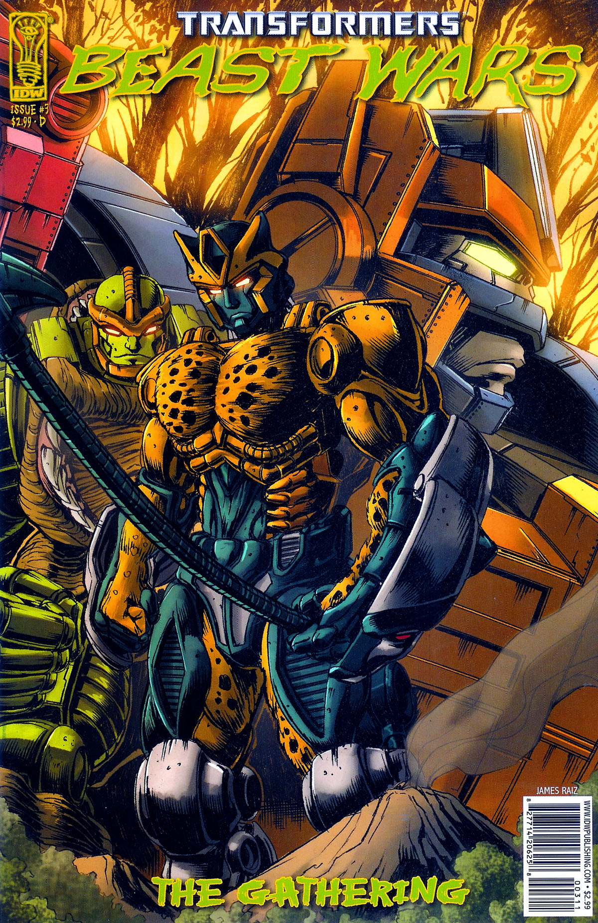 Read online Transformers, Beast Wars: The Gathering comic -  Issue #3 - 4