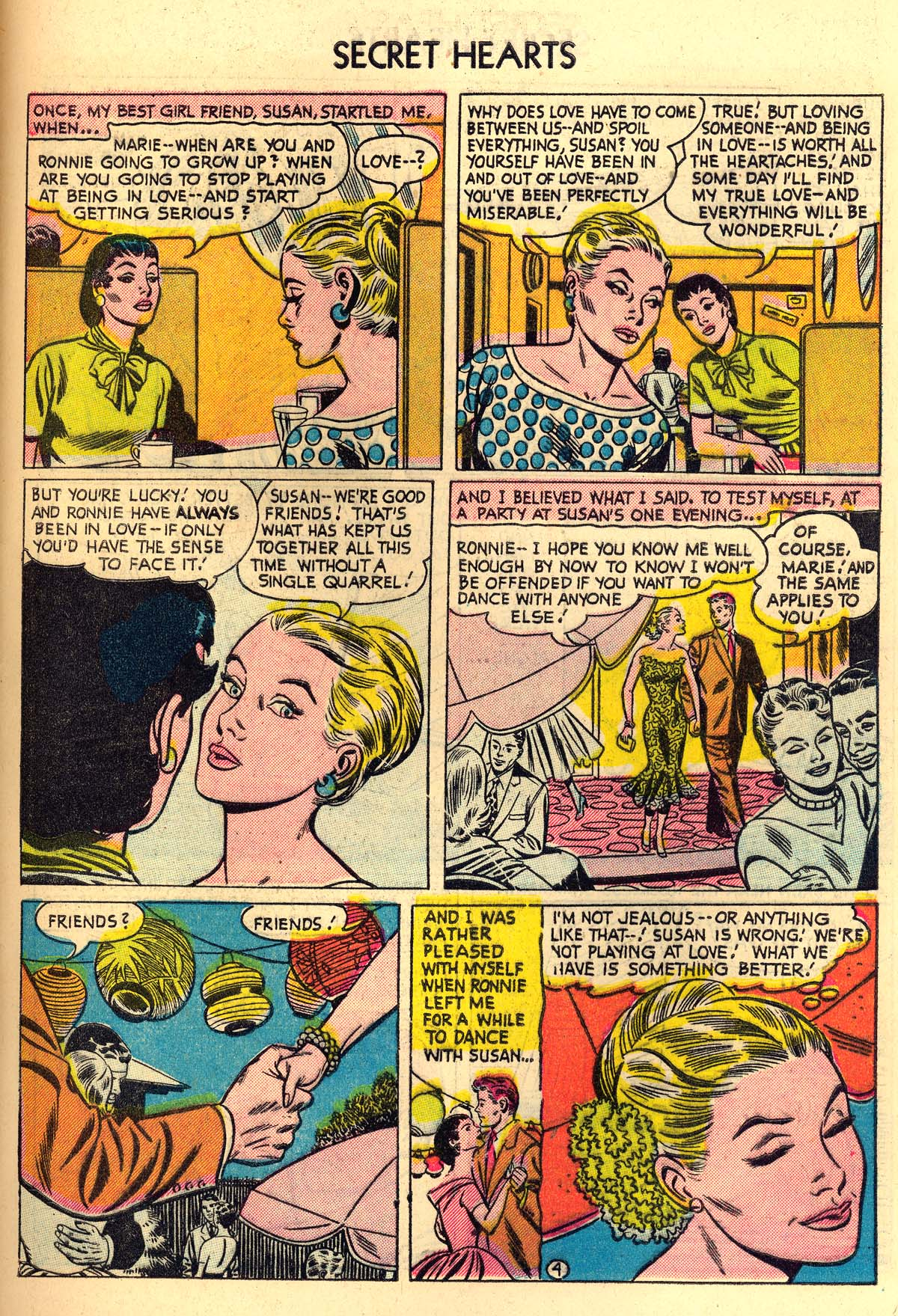 Read online Secret Hearts comic -  Issue #30 - 29