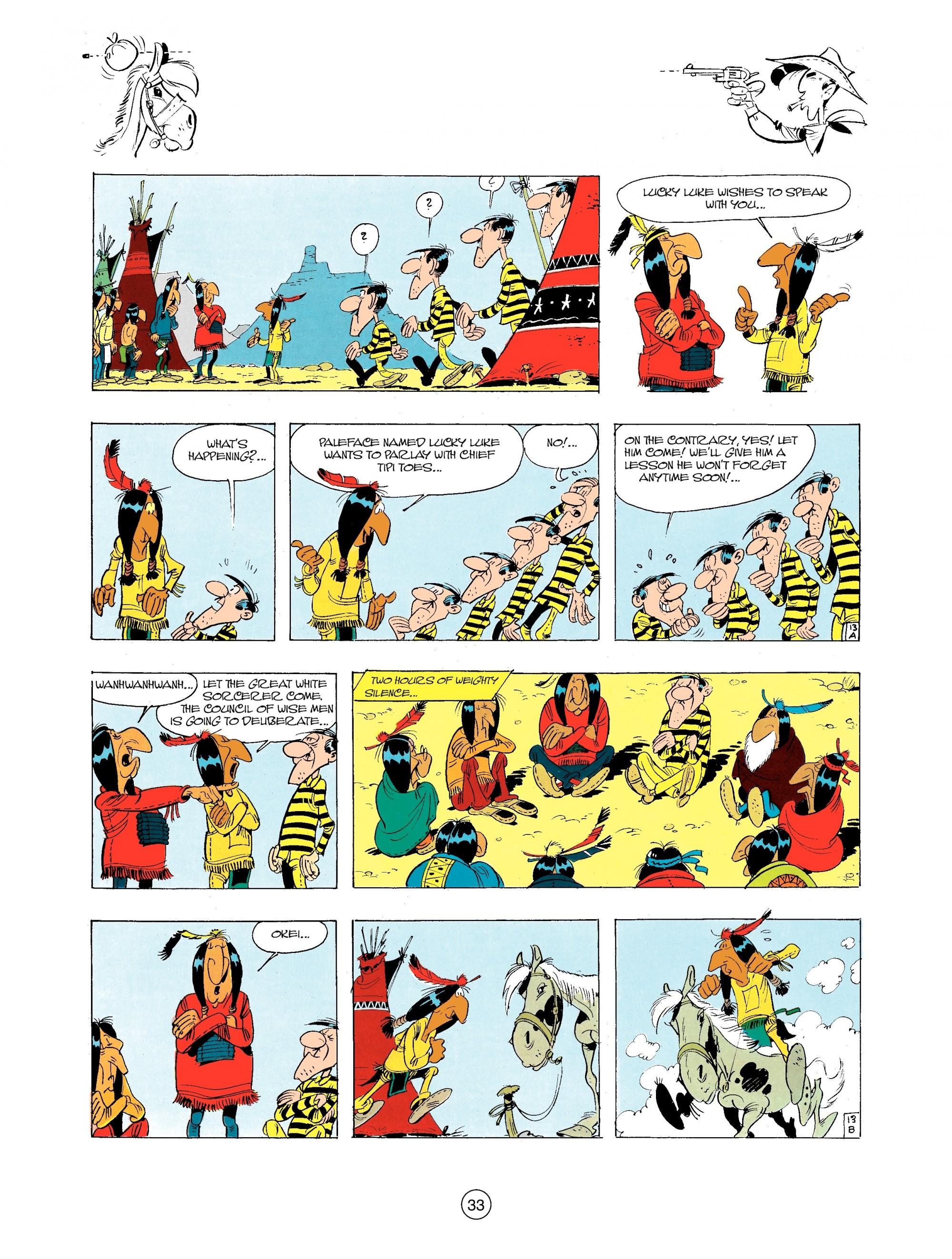 Read online A Lucky Luke Adventure comic -  Issue #34 - 33