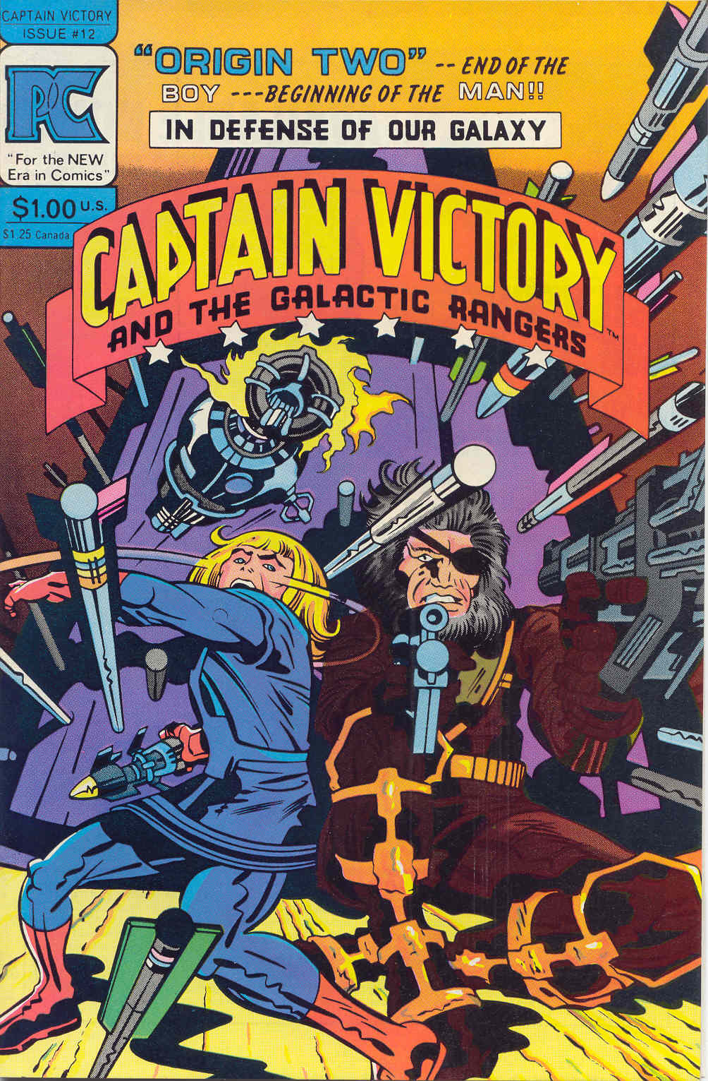 Captain Victory and the Galactic Rangers (1981) 12 Page 1