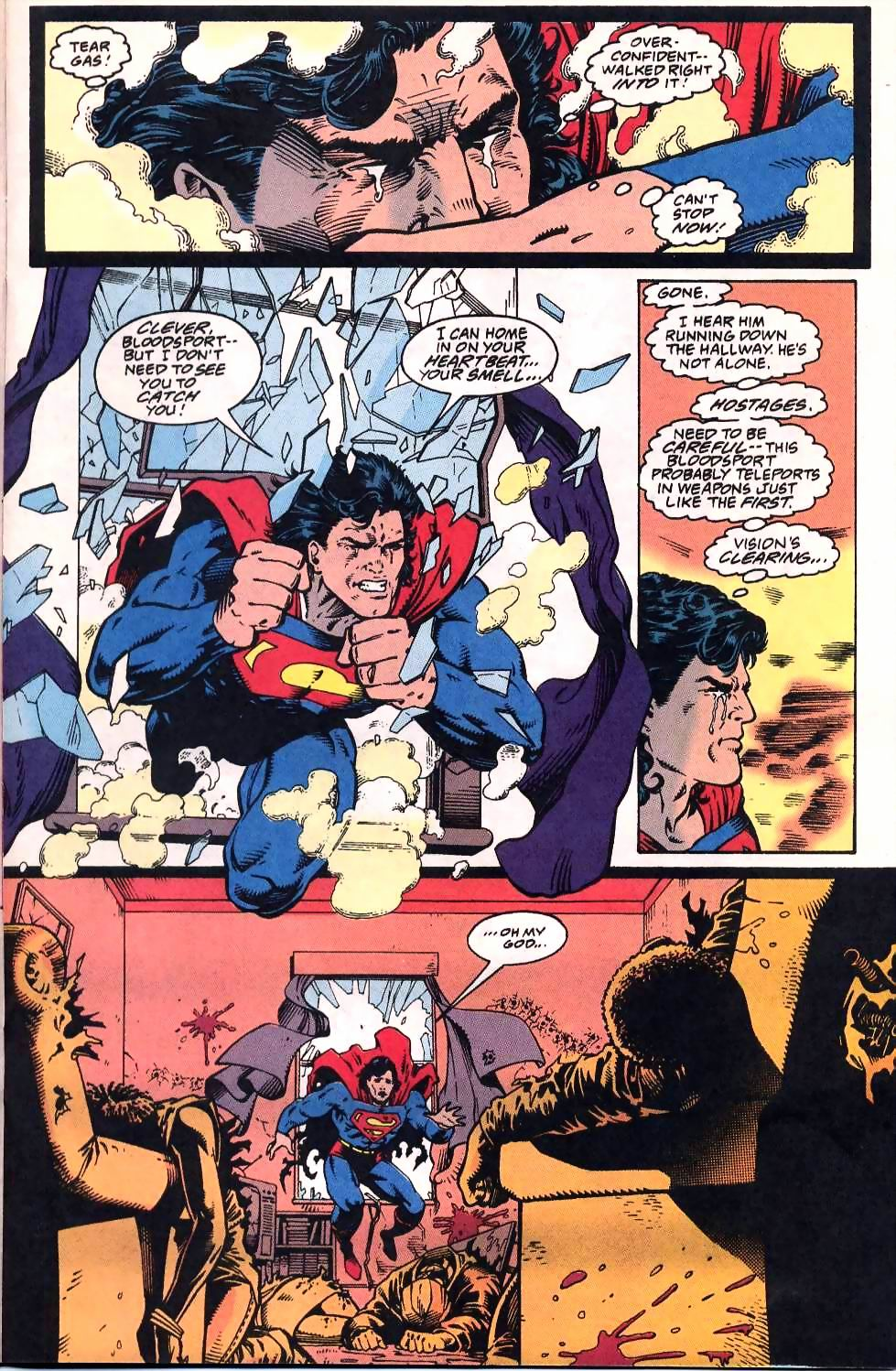 Read online Adventures of Superman (1987) comic -  Issue #507 - 13