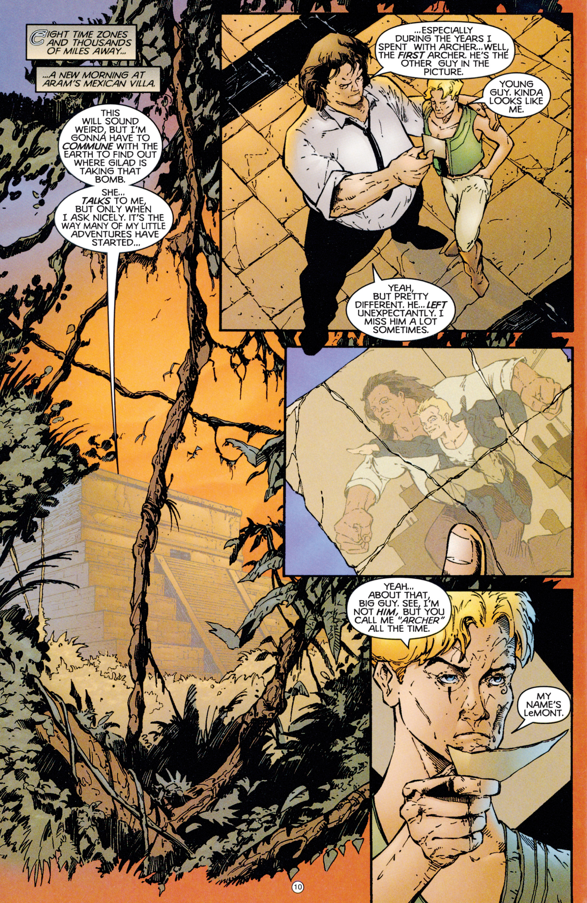 Read online Eternal Warriors comic -  Issue # Issue Archer & Armstrong - 11