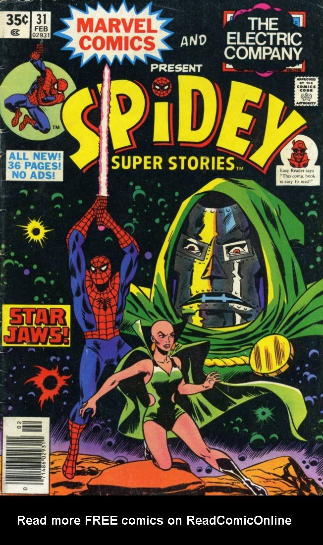Spidey Super Stories 31 Page 1