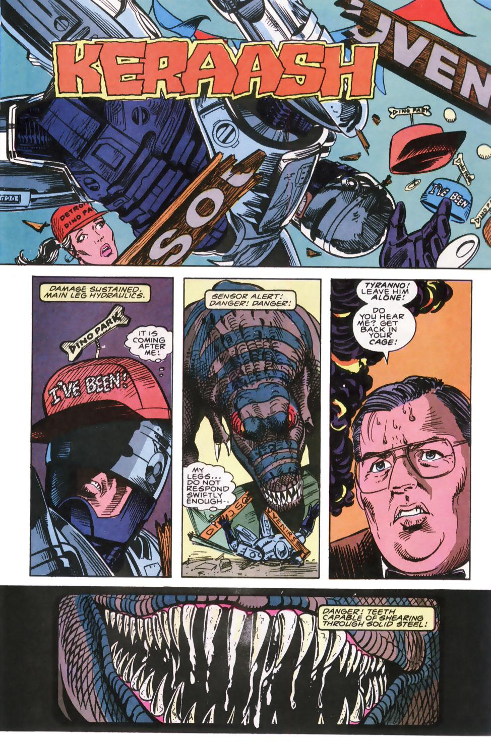Read online Robocop (1990) comic -  Issue #7 - 18