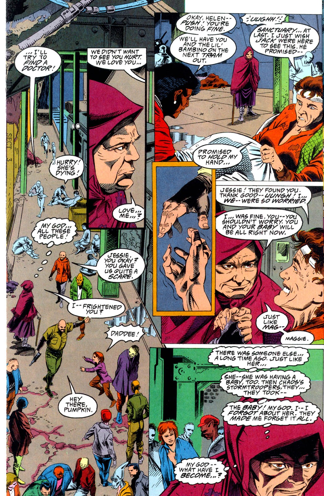 Read online Team Titans comic -  Issue #1b - 17