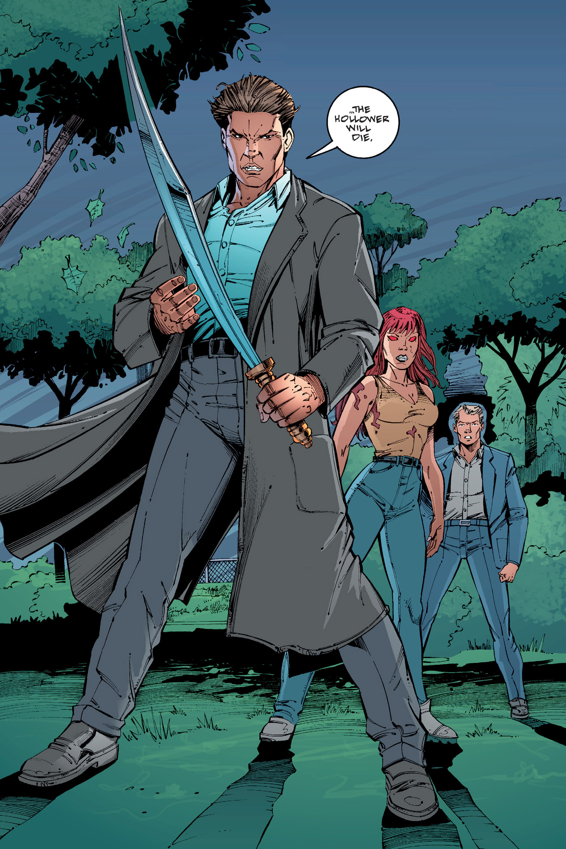 Read online Buffy the Vampire Slayer: Omnibus comic -  Issue # TPB 4 - 322