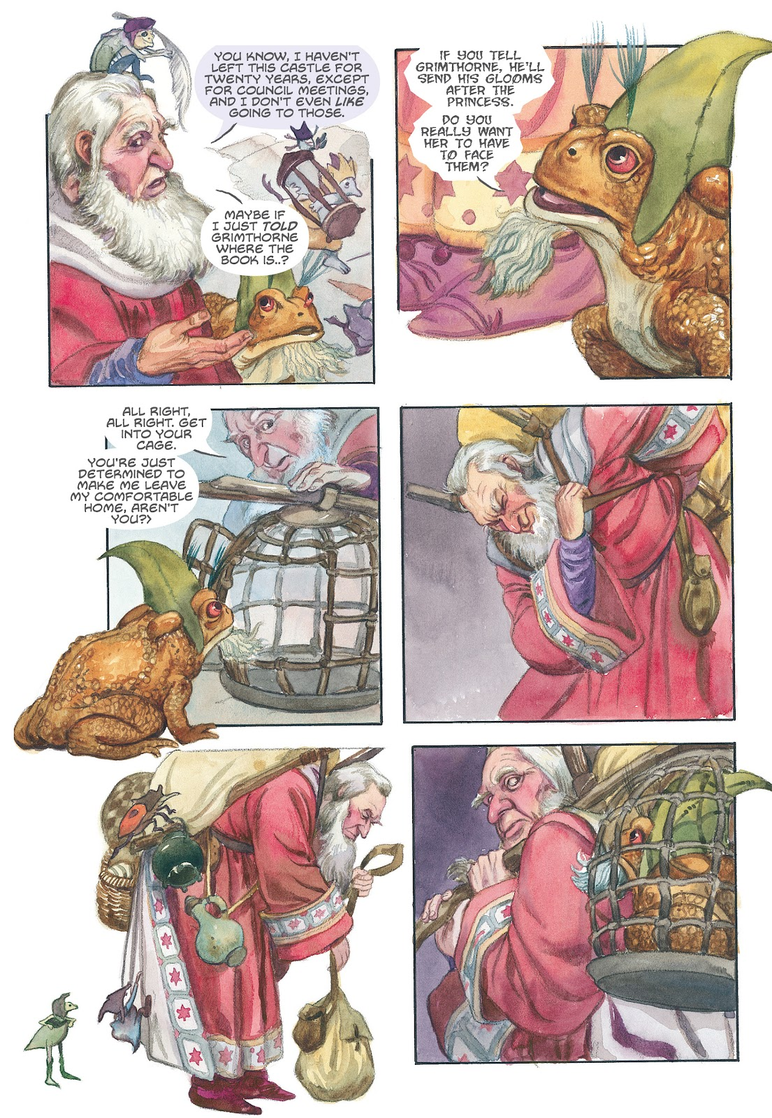Read online The Wizard's Tale comic -  Issue # TPB - 44