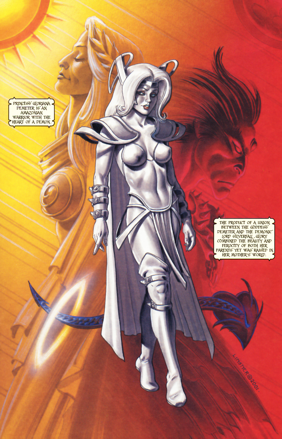 Read online Alan Moore's Glory comic -  Issue #0 - 12