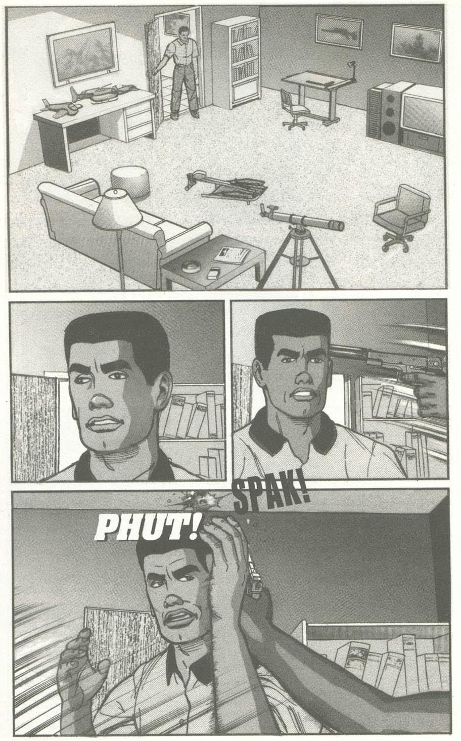 Read online U.S. War Machine comic -  Issue #2 - 12
