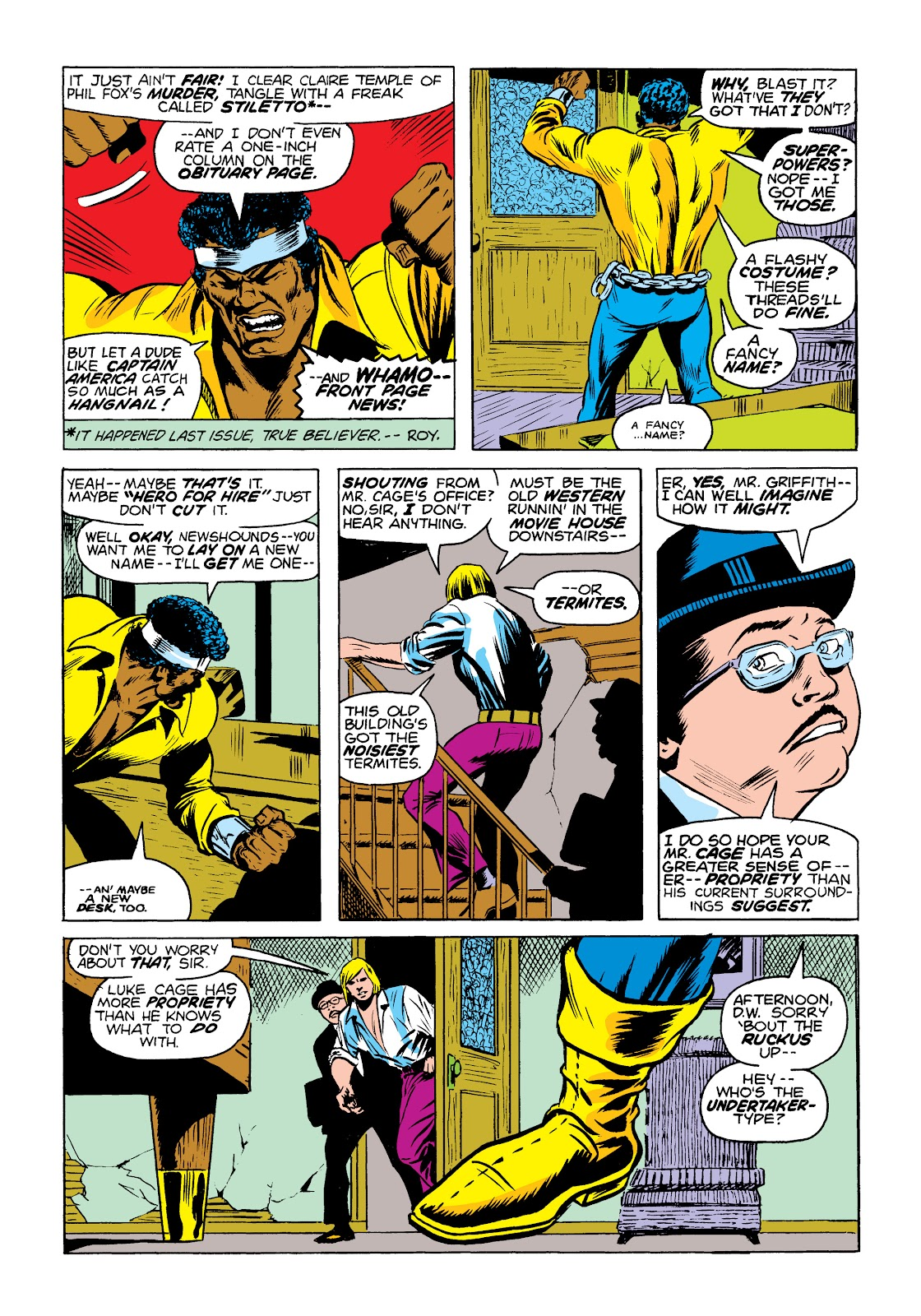 Read online Marvel Masterworks: Luke Cage, Power Man comic -  Issue # TPB 2 (Part 1) - 11