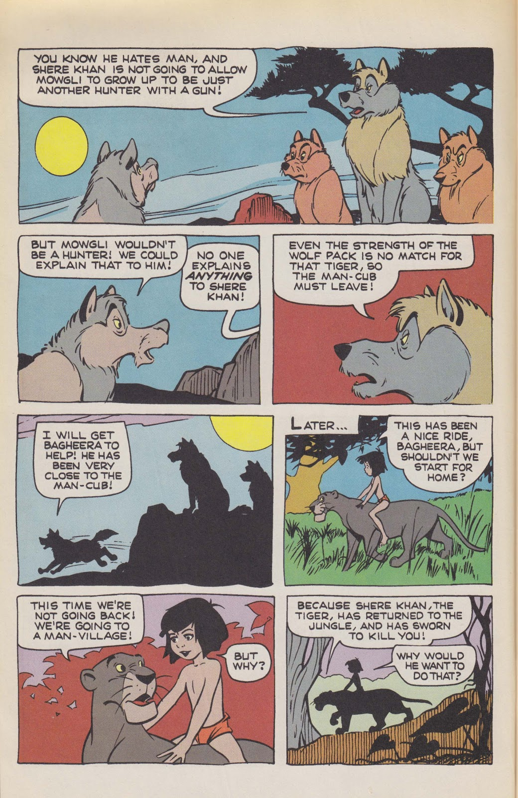 Read online The Jungle Book comic -  Issue # Full - 8
