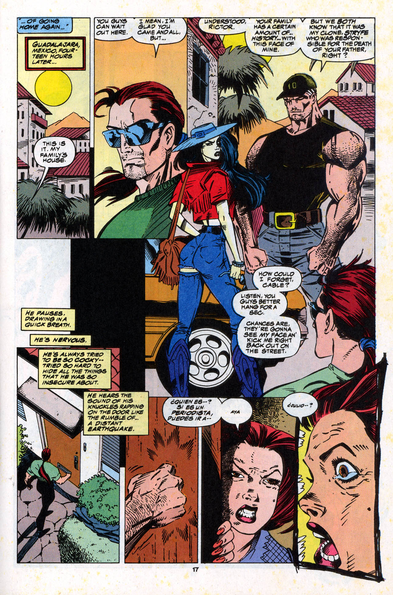 Read online X-Force (1991) comic -  Issue #34 - 18