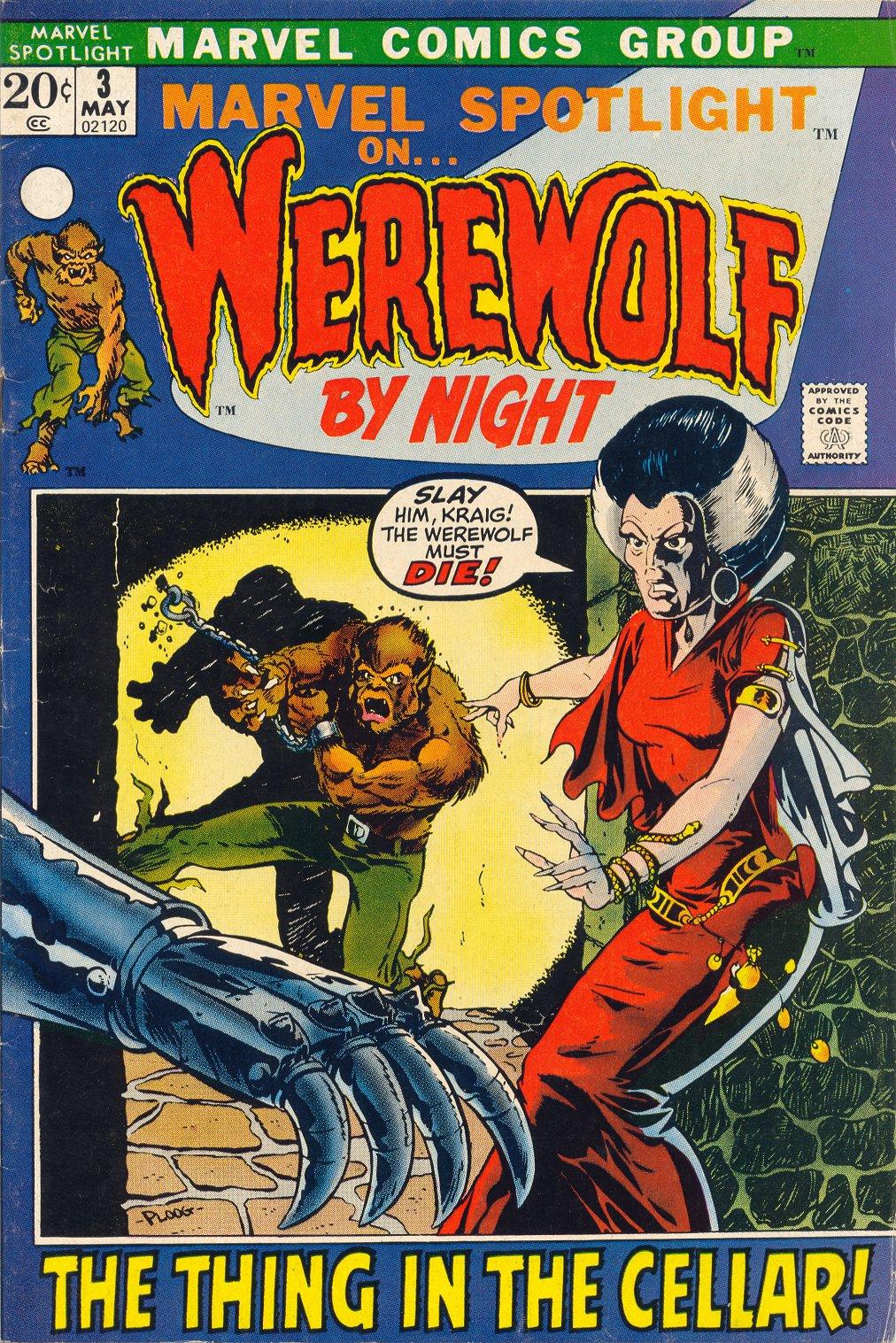 Marvel Spotlight (1971) issue 3 - Page 1