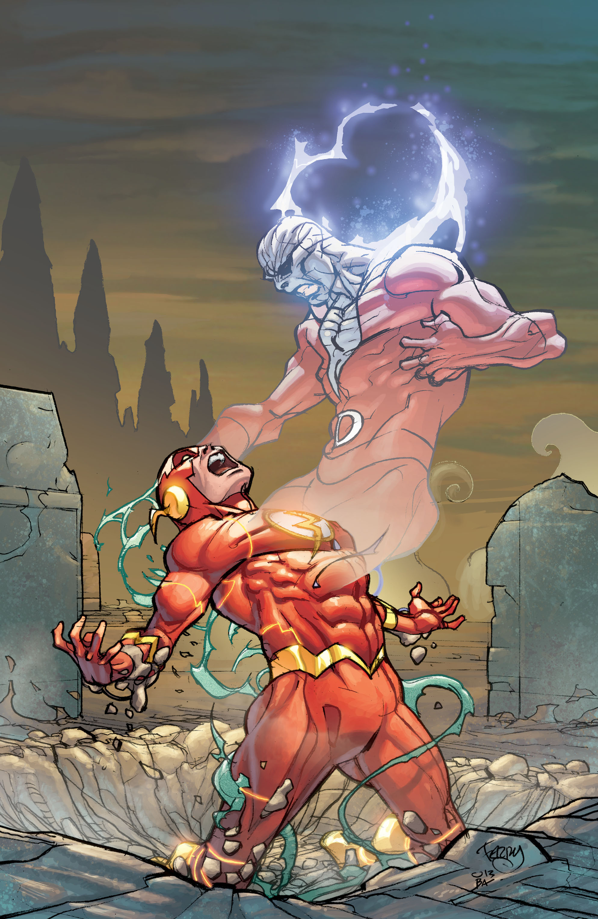 Read online The Flash (2011) comic -  Issue # _TPB 5 - 85