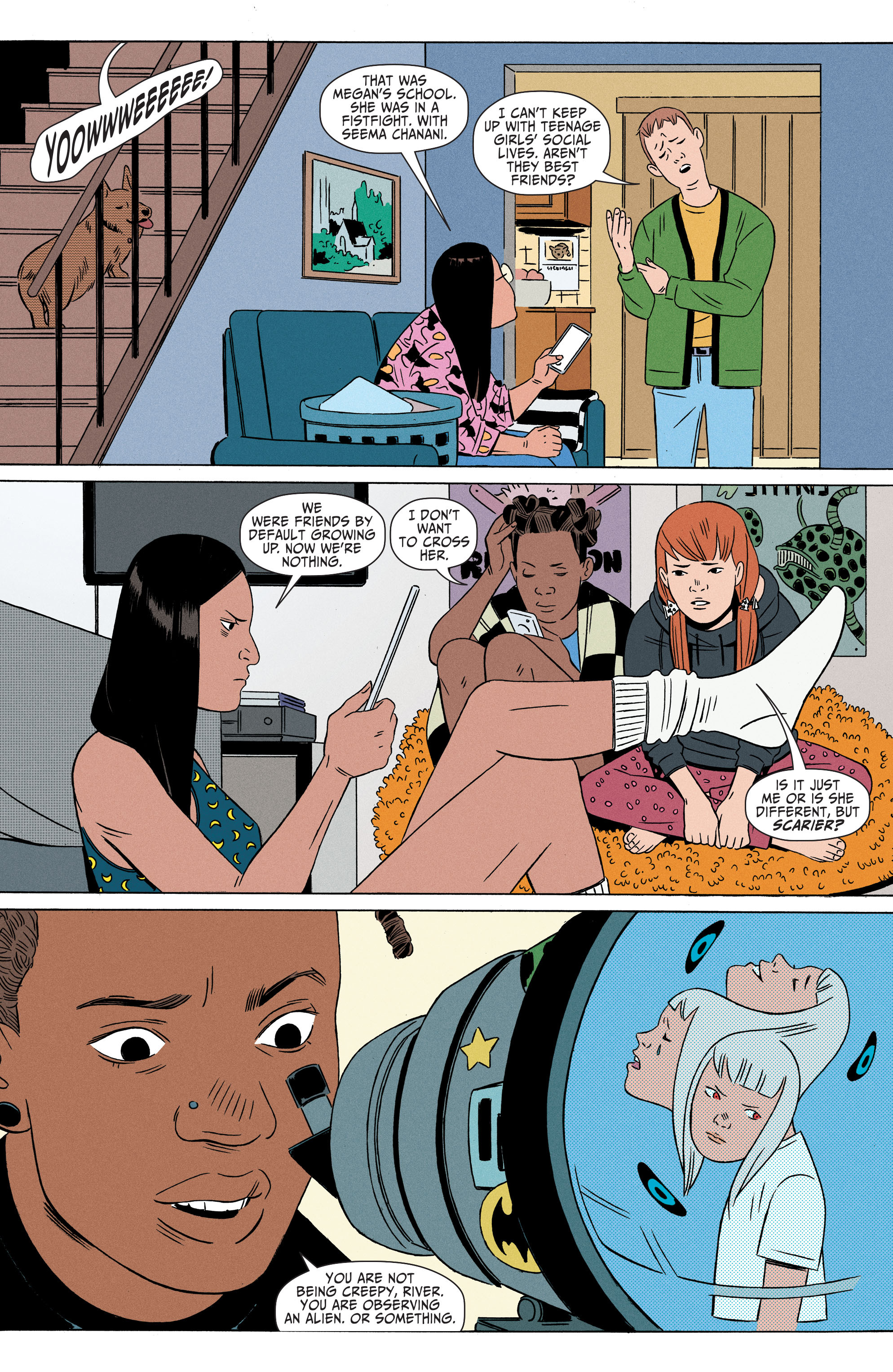 Read online Shade, the Changing Girl comic -  Issue #4 - 6