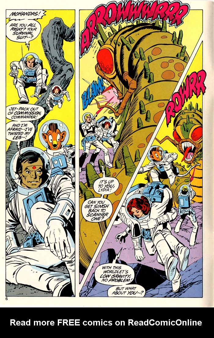 Read online Atari Force (1982) comic -  Issue #5 - 8