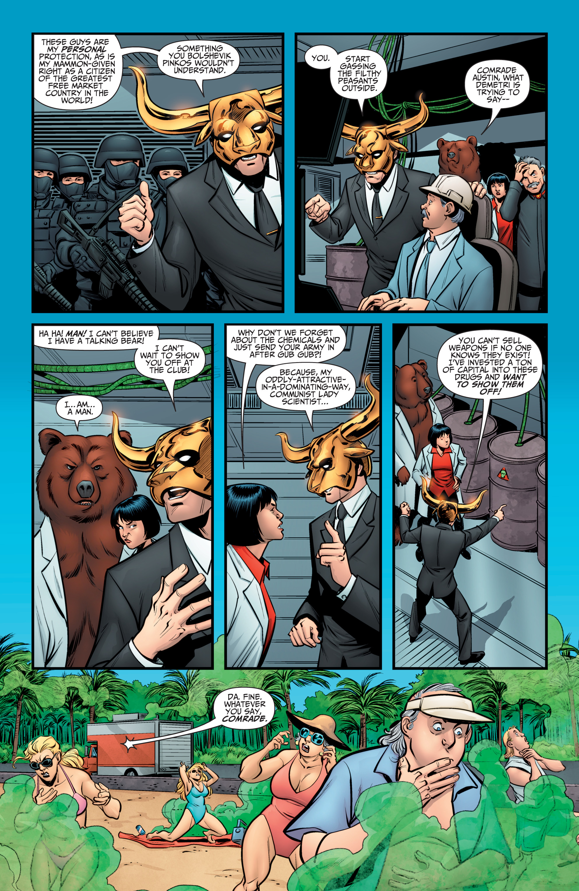 Read online A&A: The Adventures of Archer & Armstrong comic -  Issue #10 - 4