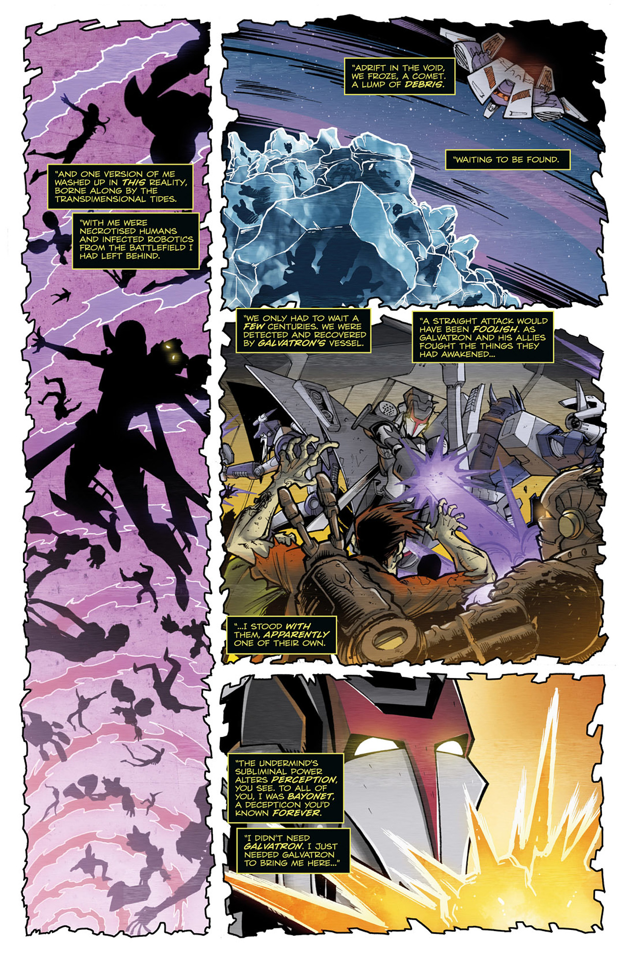 Read online Transformers: Infestation comic -  Issue #2 - 8