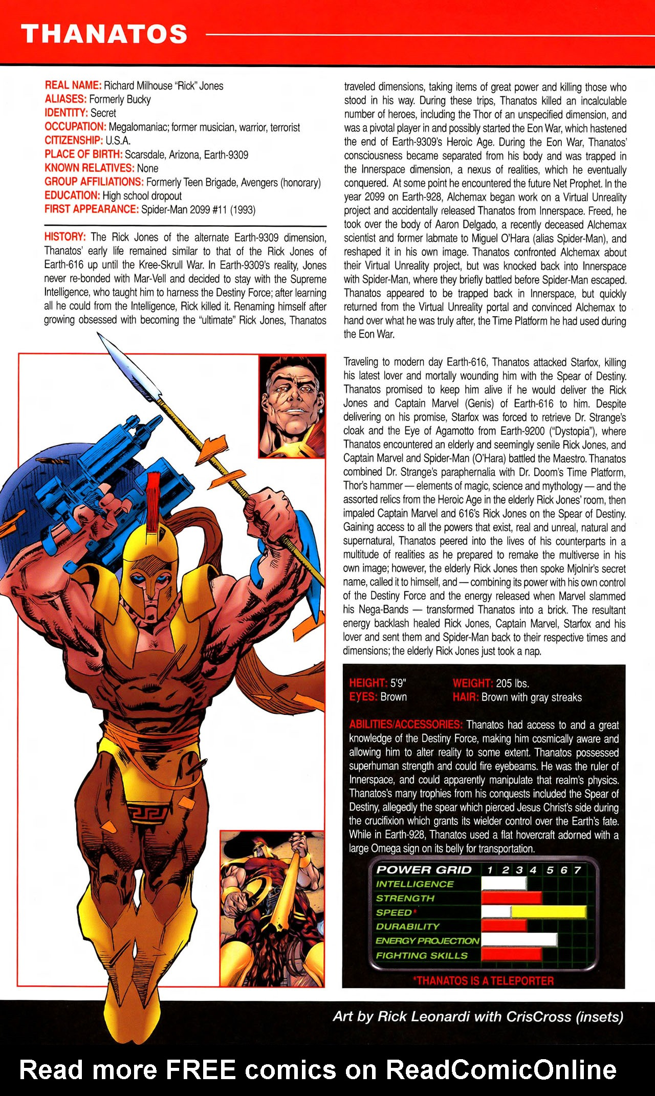 Read online All-New Official Handbook of the Marvel Universe A to Z comic -  Issue #11 - 28