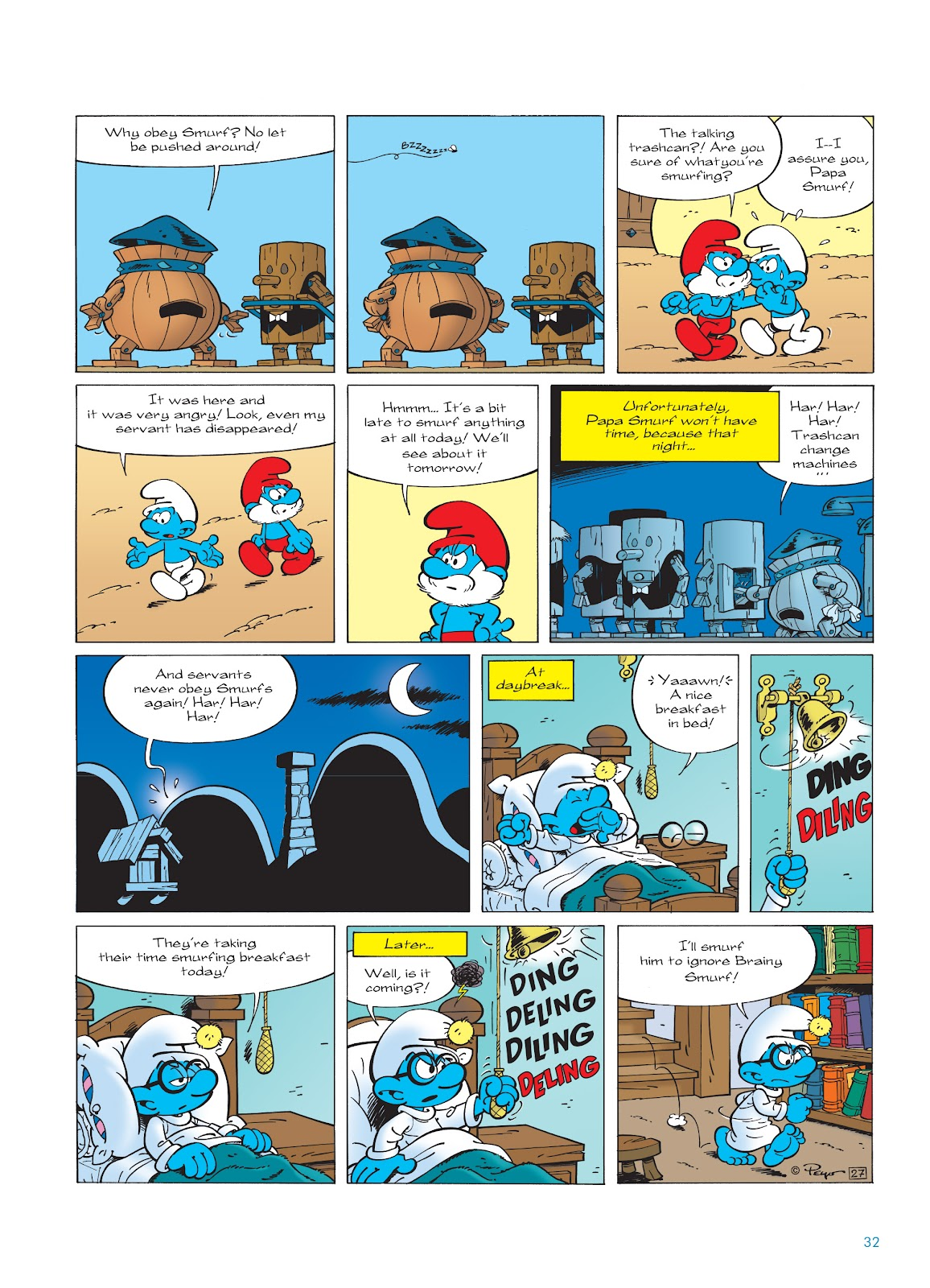 Read online The Smurfs comic -  Issue #23 - 32