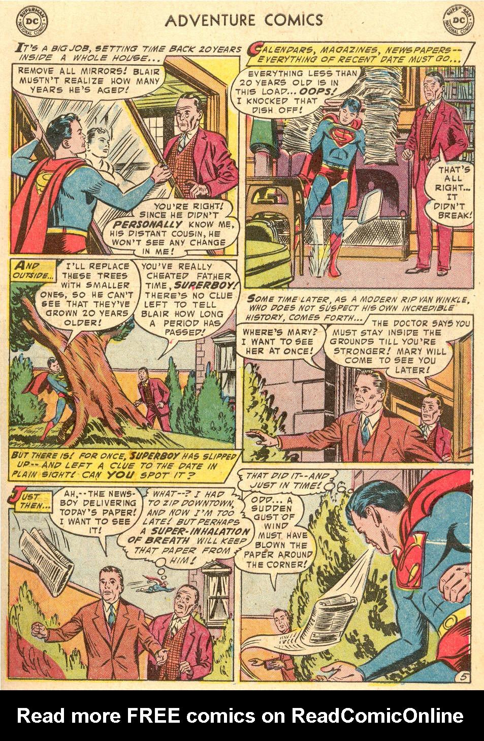 Read online Adventure Comics (1938) comic -  Issue #208 - 7