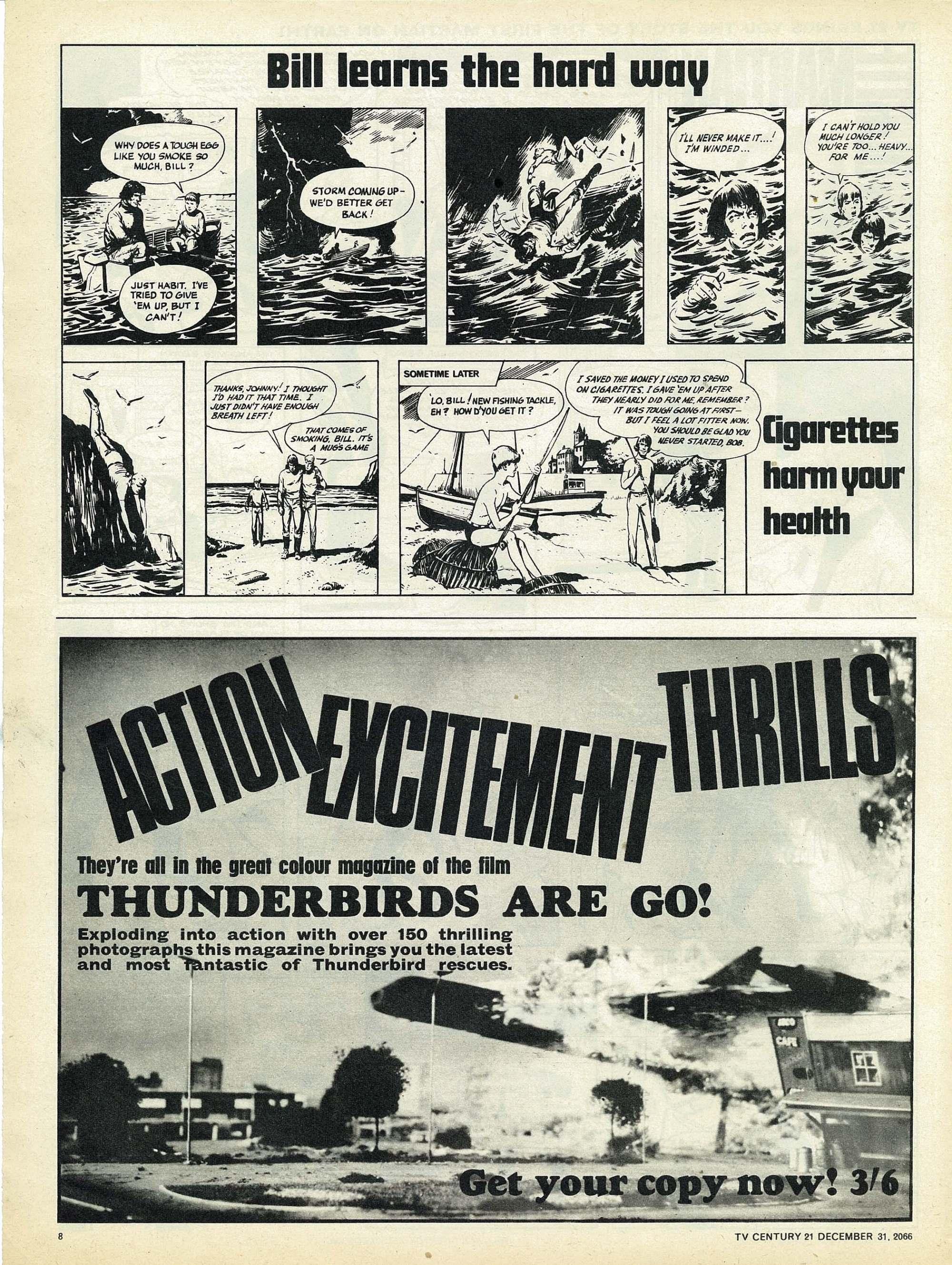 Read online TV Century 21 (TV 21) comic -  Issue #102 - 8