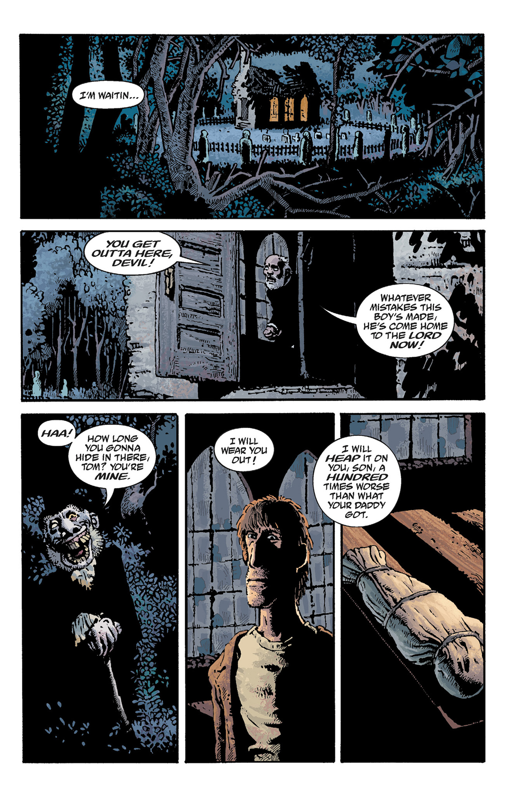 Read online Hellboy: The Crooked Man and Others comic -  Issue # TPB - 59