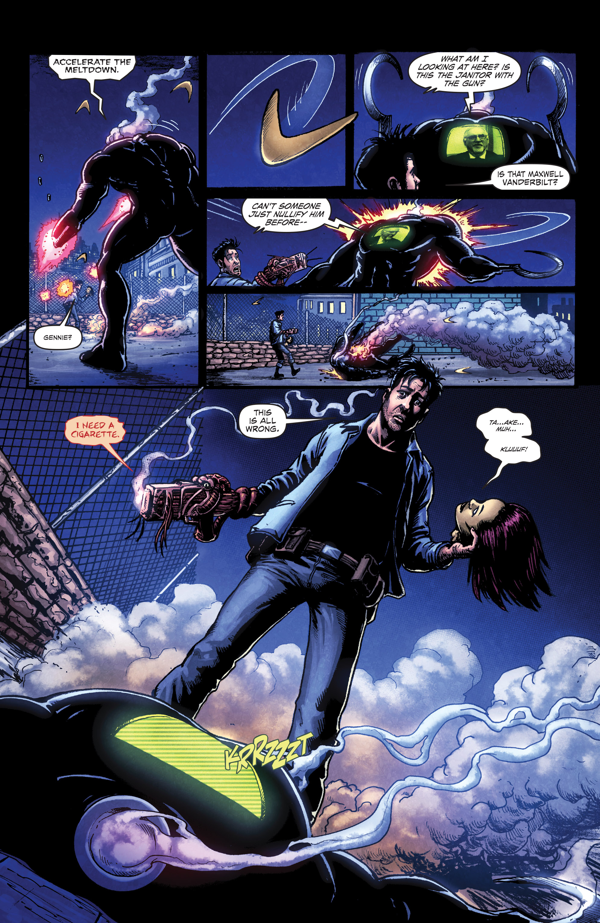 Read online Ballistic (2013) comic -  Issue #3 - 14