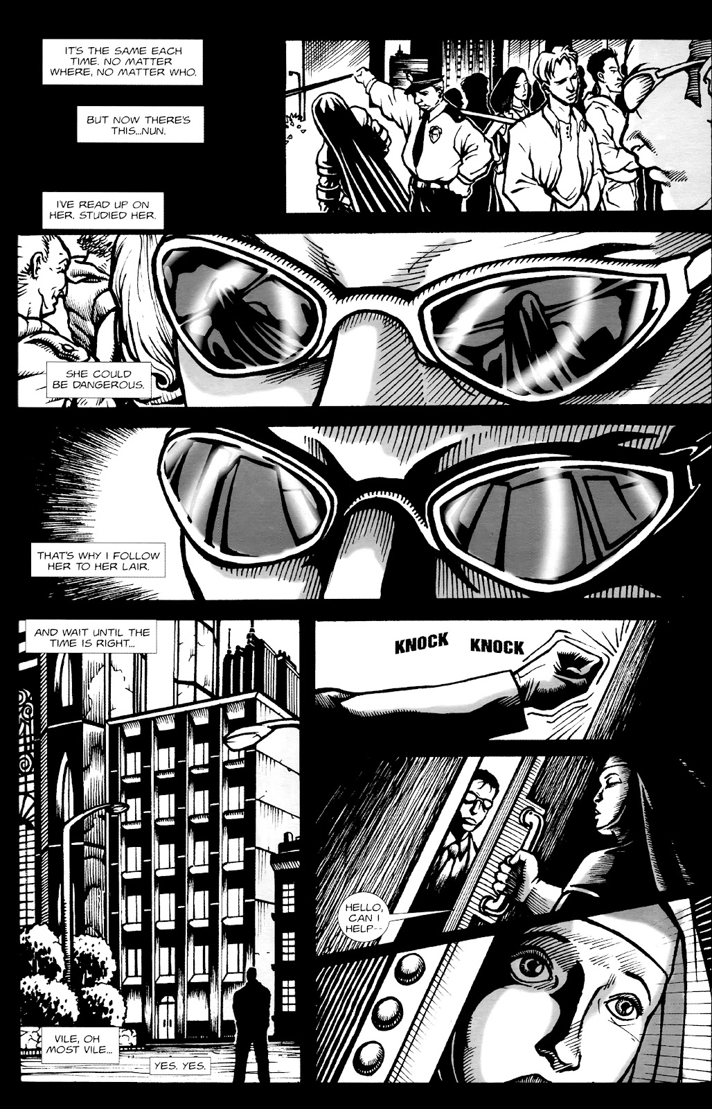 Warrior Nun Areala:  Dangerous Game Issue #1 #1 - English 28