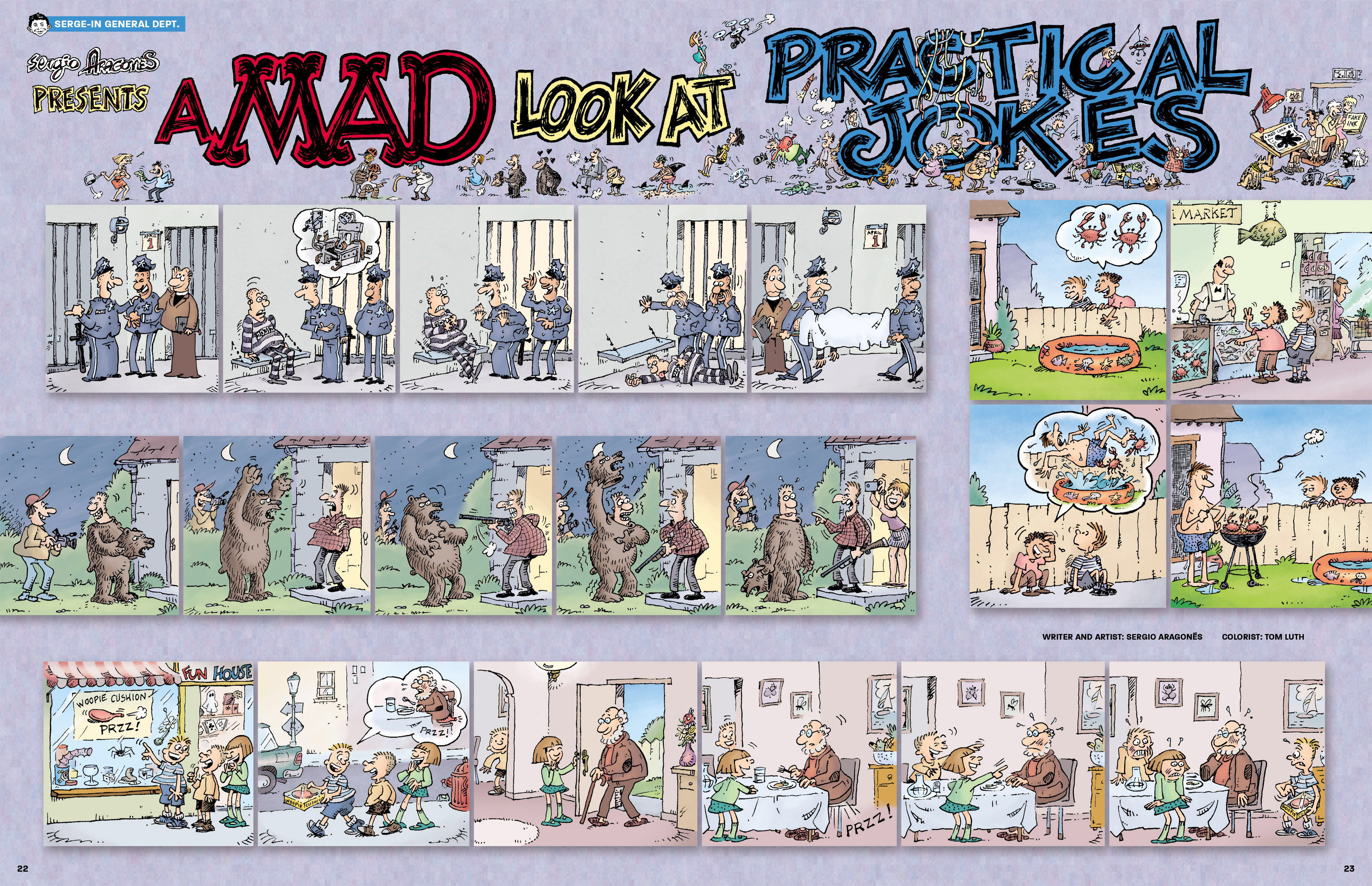 Read online MAD comic -  Issue #546 - 19