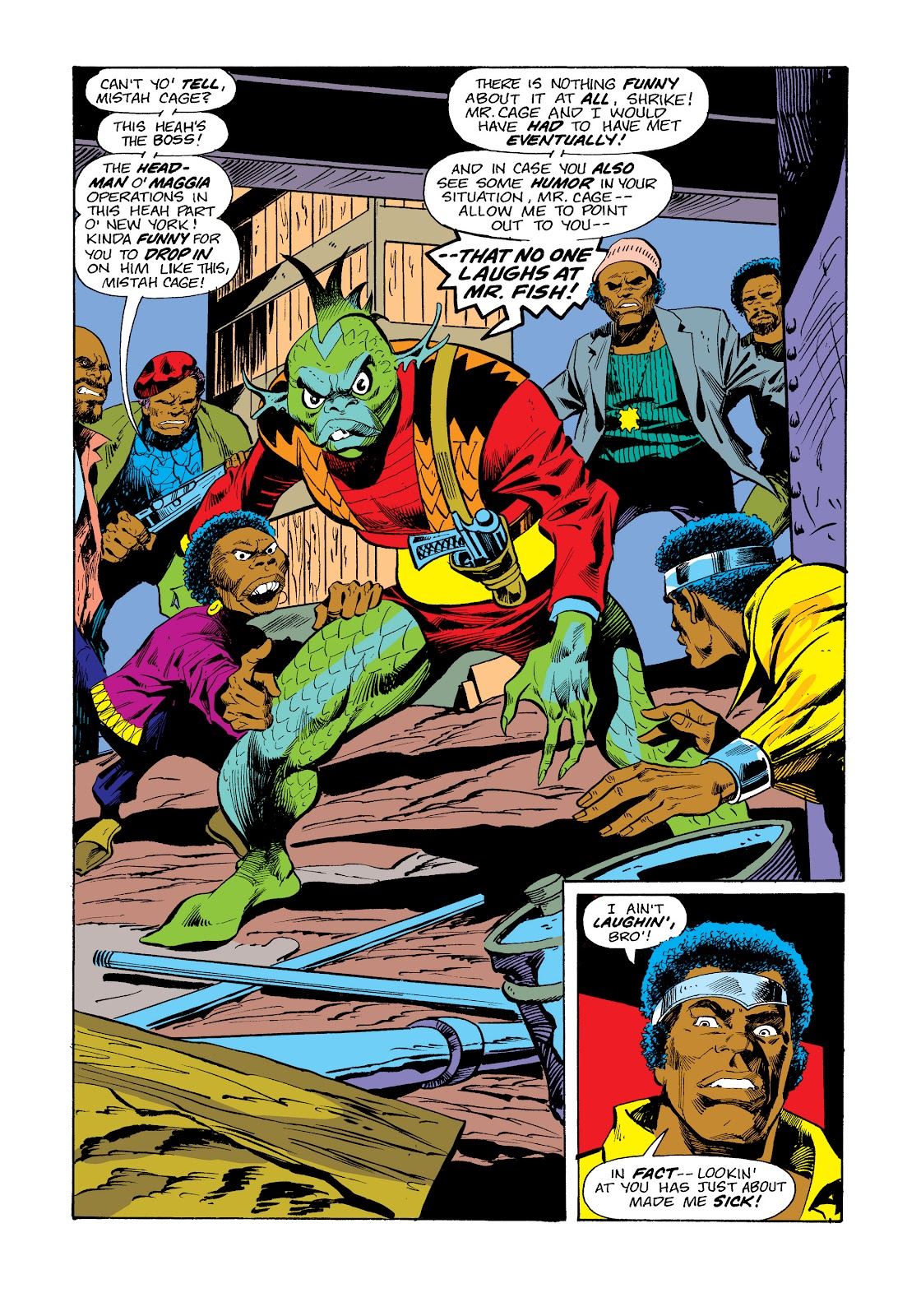 Read online Marvel Masterworks: Luke Cage, Power Man comic -  Issue # TPB 2 (Part 3) - 46