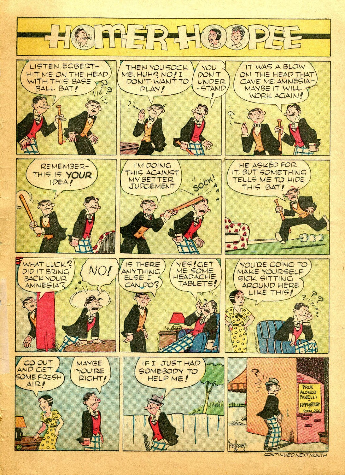 Read online Famous Funnies comic -  Issue #61 - 63