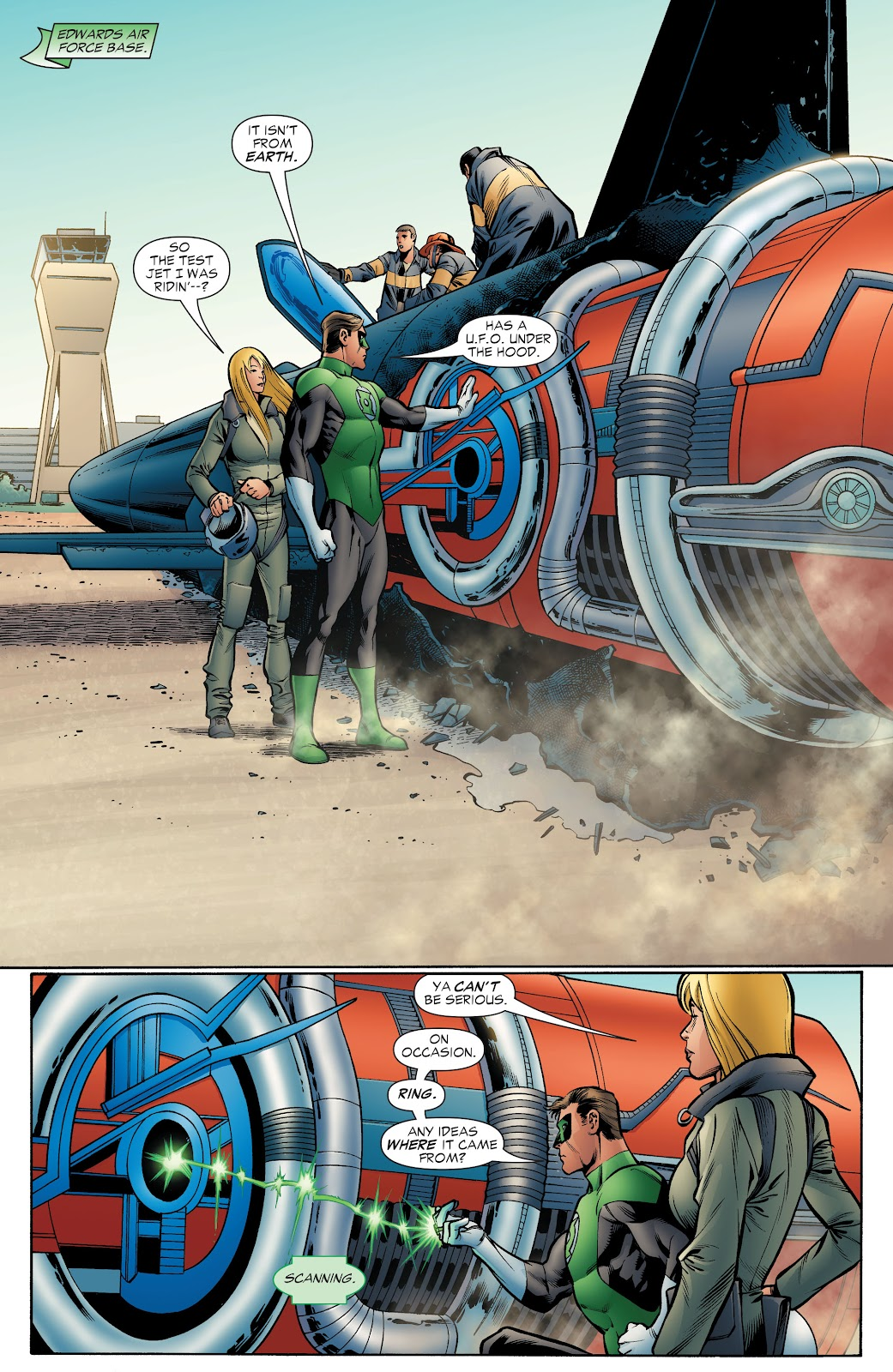 Read online Green Lantern by Geoff Johns comic -  Issue # TPB 1 (Part 4) - 26