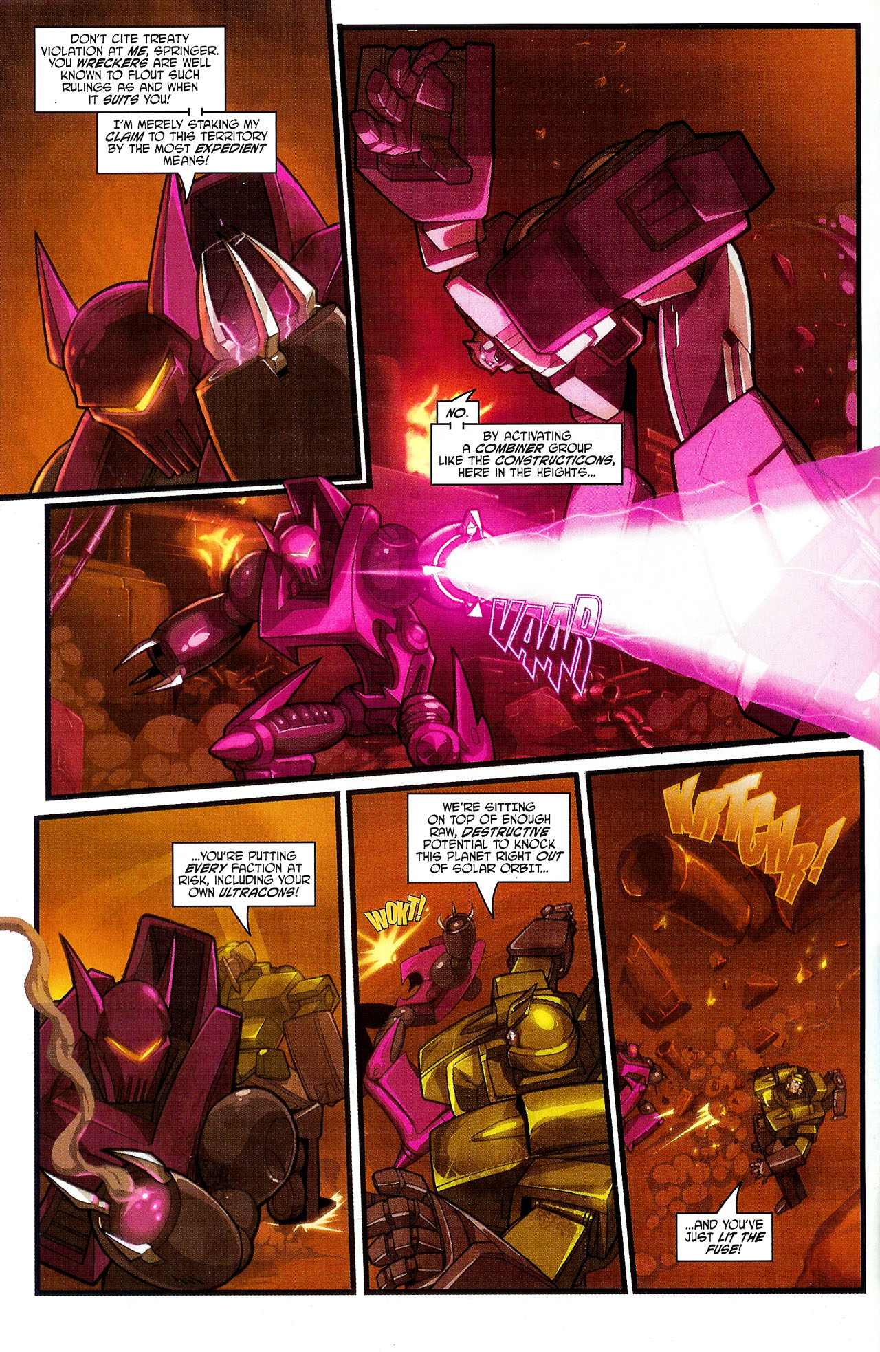 """Read online Transformers War Within: """"The Dark Ages"""" comic -  Issue #3 - 5"""