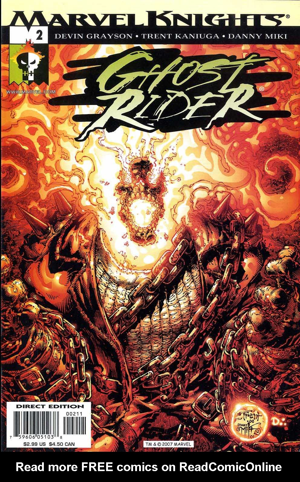 Ghost Rider (2001) 2 Page 1